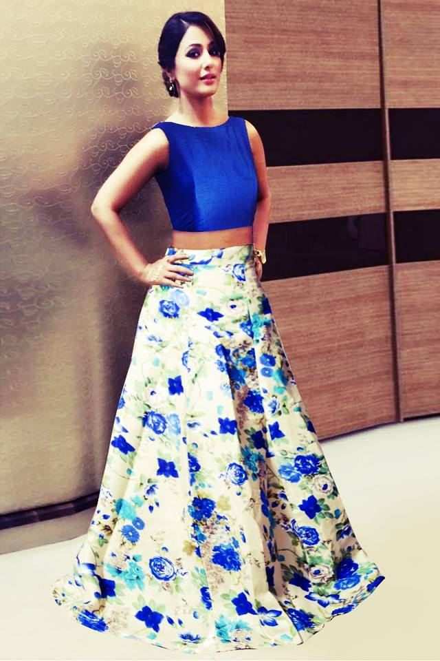 Exclusive Printed Designer Lehenga #L30 Blue