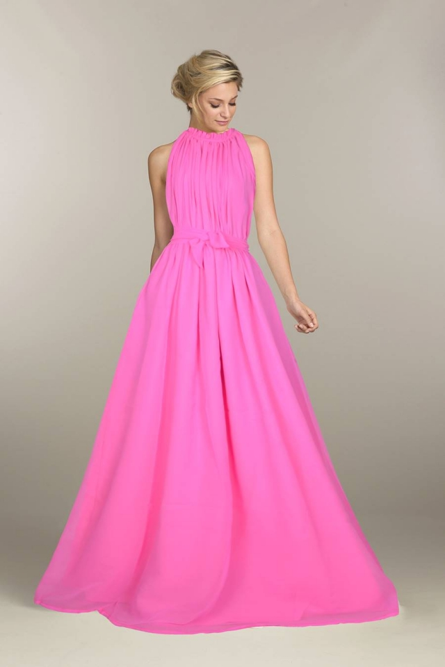 Exclusive Designer Royal Gown #G30 Dyna Pink, Buy Gowns online, Pure ...