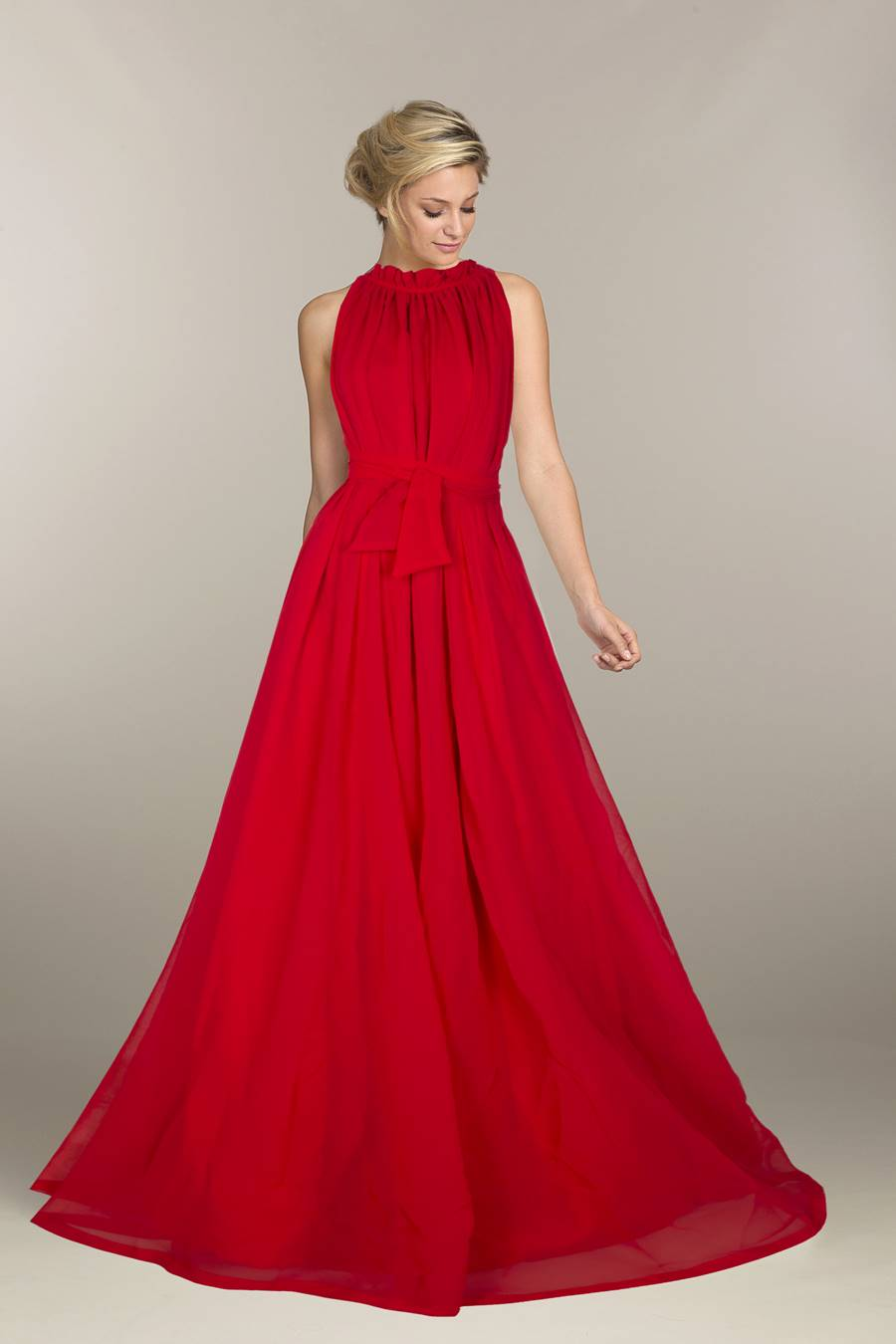 Exclusive Designer Royal Gown #G32 Dyna Red, Buy Gowns online, Pure ...