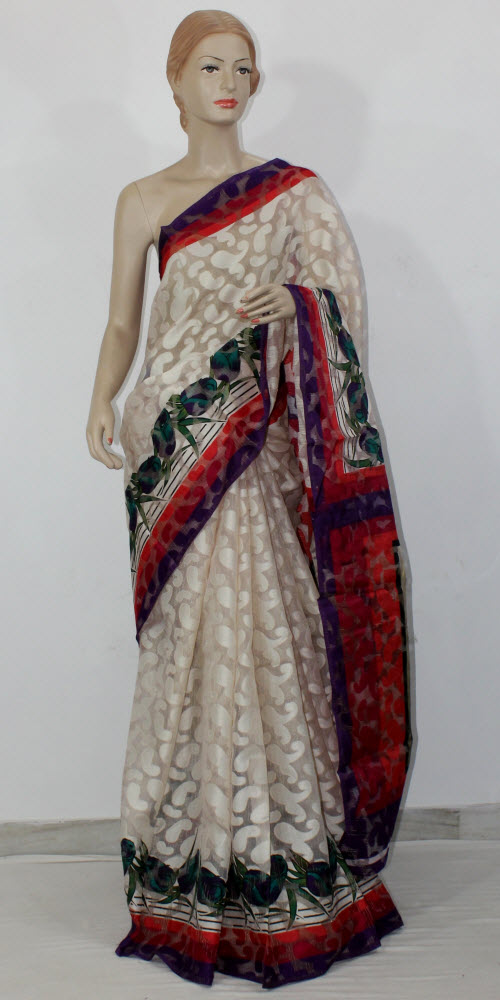 Exclusive Brasso Art Silk Saree 11287