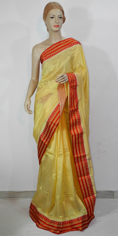 Garad Temple Art Silk Saree 11690