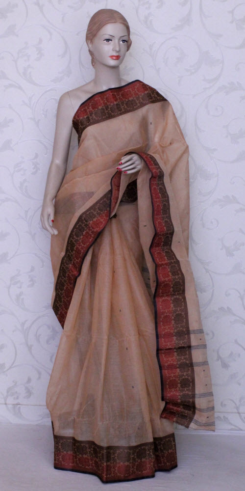Bengal Handloom Tant Saree (Cotton) 12067