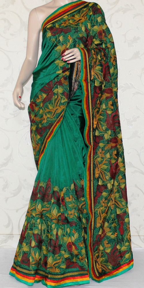 Exclusive Embroidered Saree 12937