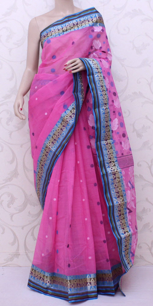 Bengal Handloom Tant Saree (Cotton) 13036